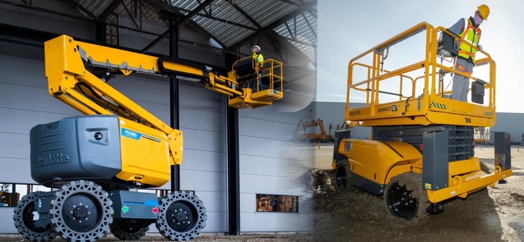 Haulotte gehört zu den Experten unter den Arbeitsbühnen- und Lasthebemittel-Herstellern