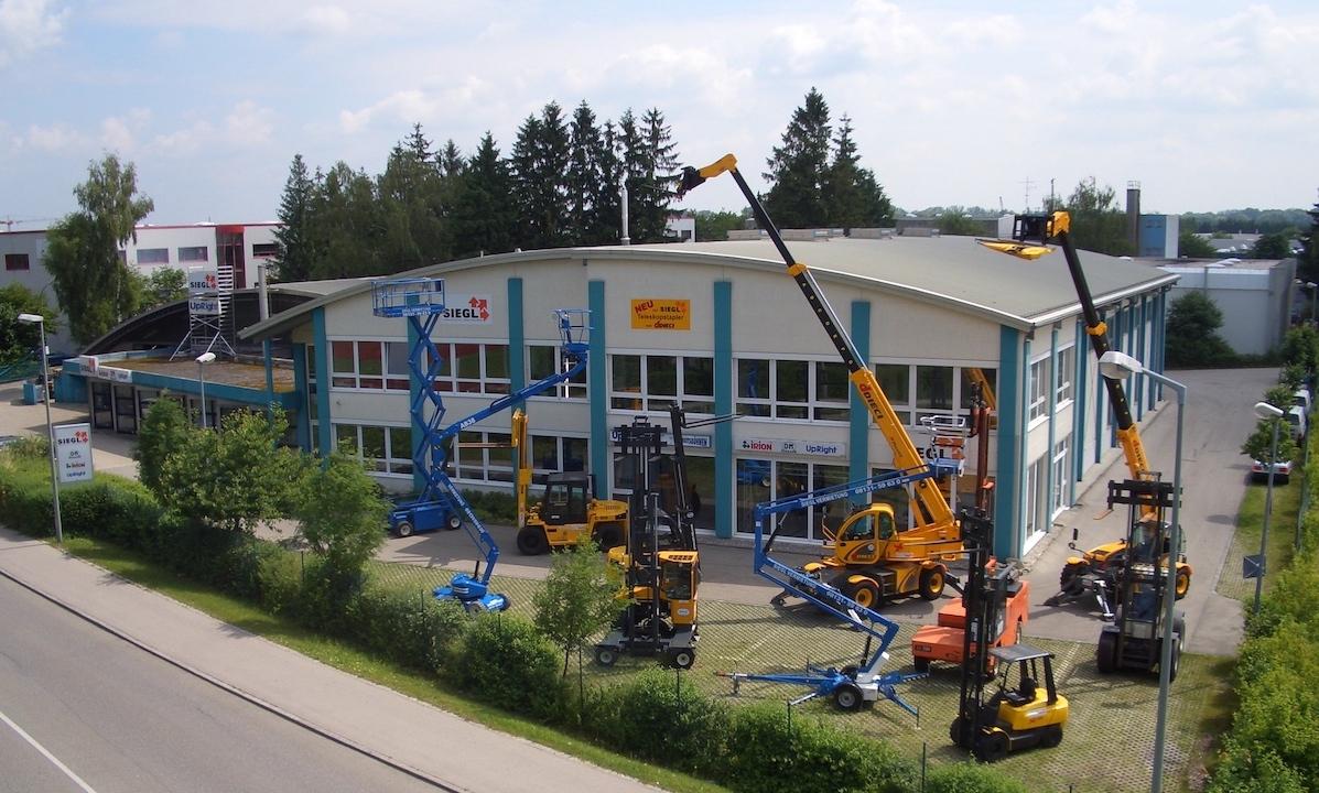 Siegl Gabelstapler Firmengebäude